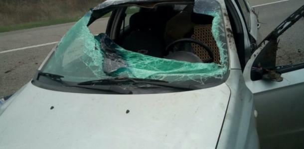 На трассе М-18 произошло смертельное ДТП с Chevrolet Aveo
