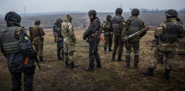 На Донбассе в результате обстрела погиб еще один военный