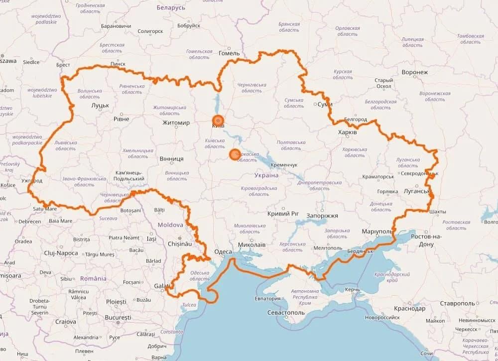 Украина без Крыма. Новости Днепра