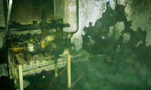 Во время пожара в селе на Днепропетровщине пострадал мужчина