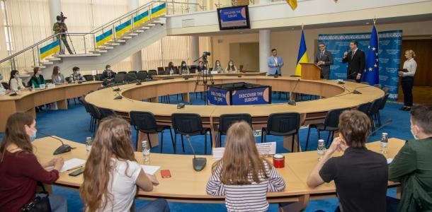 Днепропетровщина присоединилась к празднованию Дня Европы