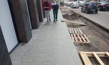В центре Днепра появится тротуар с подогревом