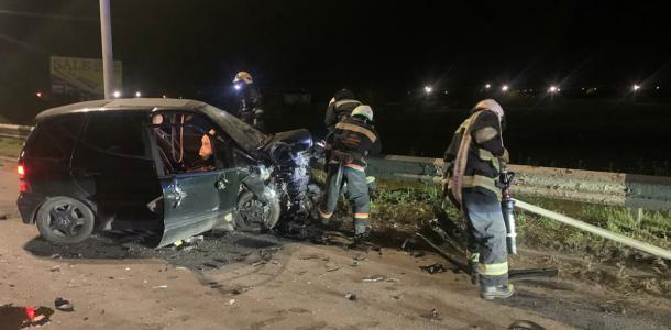 Автомобили не поделили перекресток, есть пострадавшие