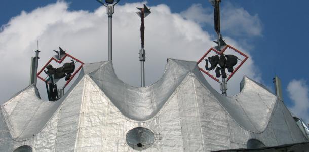 Днепропетровский цирк сдает в аренду кусочек крыши с видом на реку