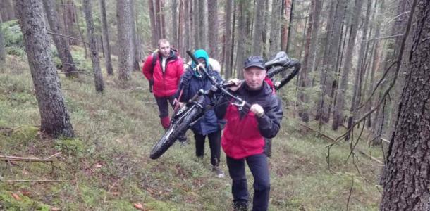 Парень из Днепра потерялся во время велопрогулкив горах