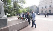 В Днепре отметили 160-ю годовщину перезахоронения Тараса Шевченко
