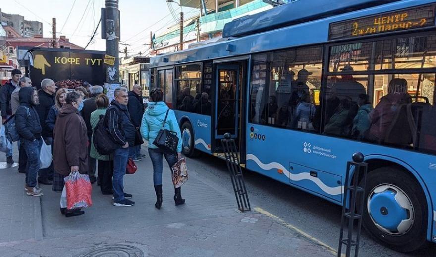 В Днепре на маршрутах уменьшат количество автобусов