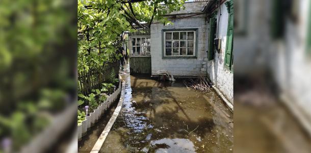 Более 300 жителей обратились в ГСЧС из-за затопления домов