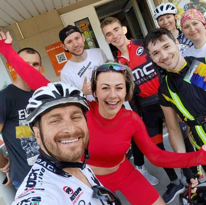 Новости Днепра про Фронтмен группы СКАЙ приедет в Днепропетровскую область с велотуром и даст бесплатный концерт