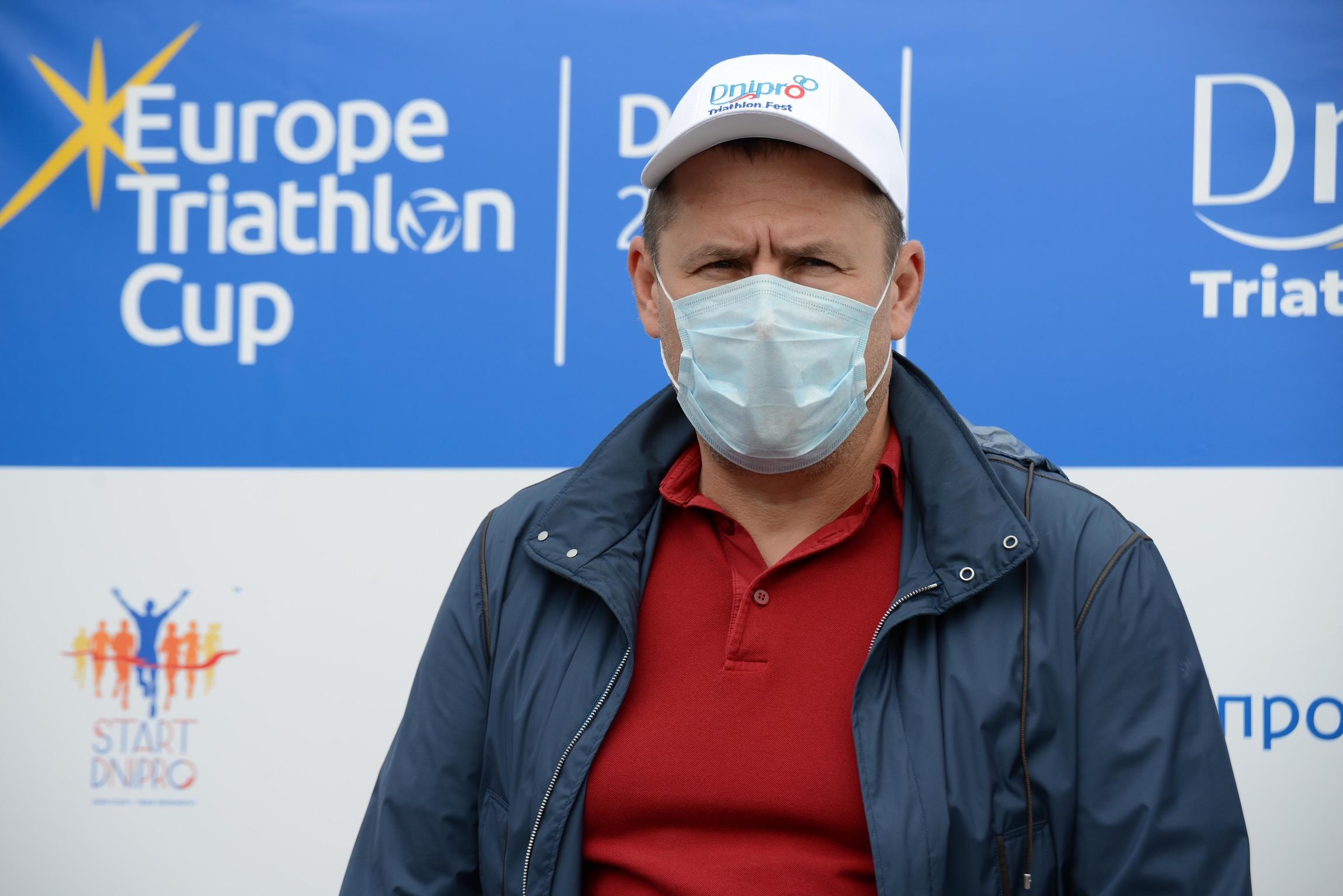 Новости Днепра про Представитель Европейского союза триатлонистов назвала Днепр столицей триатлонного фестиваля в Украине
