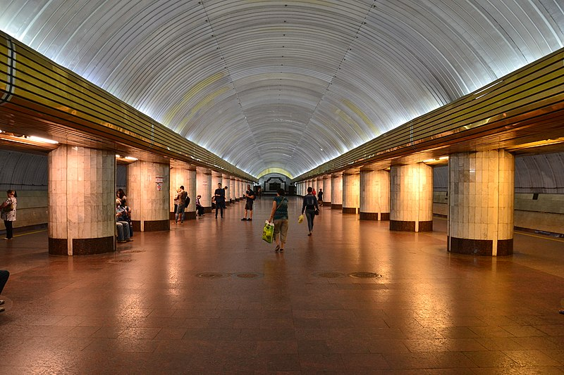 Новости Днепра про В Днепре за 4,5 миллиона проведут реконструкцию станции метрополитена