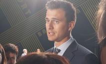 В Днепр, кроме президента, приехал шоумен и губернатор Черкасской области Александр Скичко
