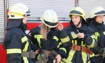 В Днепре школьники попробовали себя в роли спасателей
