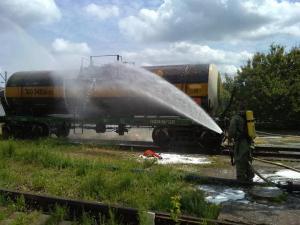 Утечка случилась по причине того, что грузовик, который перевозил серную кислоту, слишком перегрелся. Новости Днепра