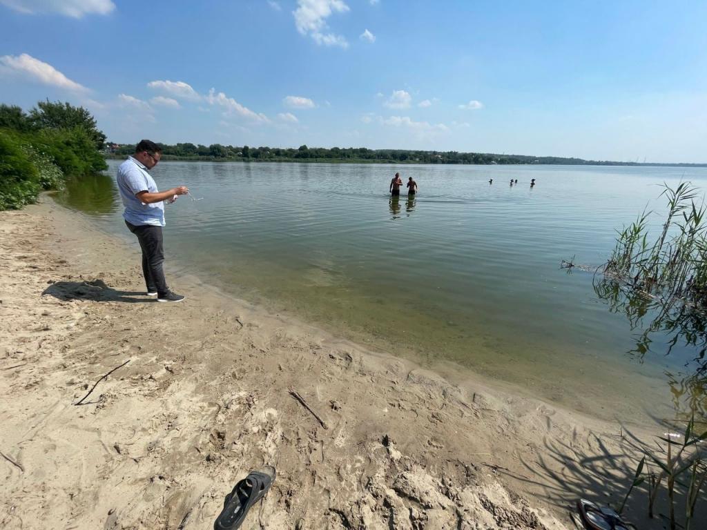 Новости Днепра про В Днепре проверили качество воды на пляжах: оценка специалистов