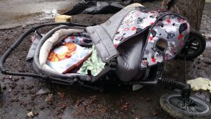 Новости Днепра про Мопедисты сбили детскую коляску с 6-месячным ребенком