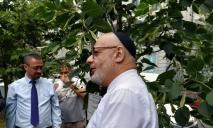 Высадили кавказские липы: в центре Днепра появилась Аллея Дипломатов (ФОТО)