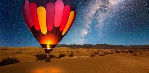 Днепряне перелетят пустыню на воздушном шаре и установят рекорд