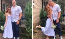 Гигантский баскетболист женился на красавице из Днепра