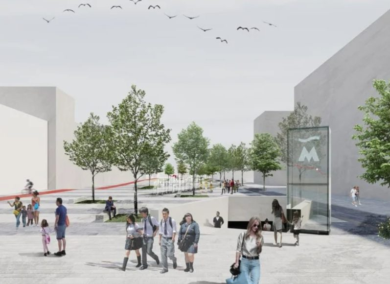 Новости Днепра про Скейтпарк и спортплощадки: как преобразится улица Столярова в Днепре