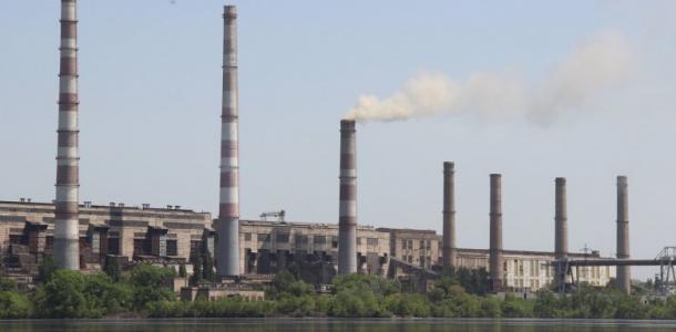 На Приднепровской ТЭС отключили от сети единственный работающий блок №9