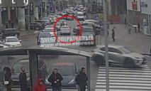 В центре Днепра таксист Uklon сбил девушку на пешеходном переходе