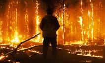 В Кривом Роге нетрезвый мужчина устроил пожар в своей квартире и вошел внутрь жилья