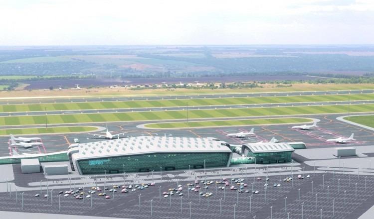 Новости Днепра про Определили нового подрядчика для строительства аэродрома в Днепре