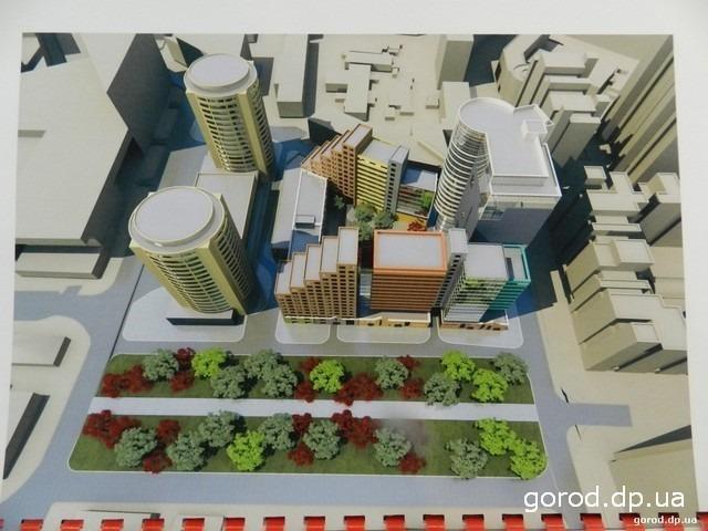 Новости Днепра про Башня-гостиница и новые пятиэтажки: как будет выглядеть исторический квартал рядом с Успенской площадью