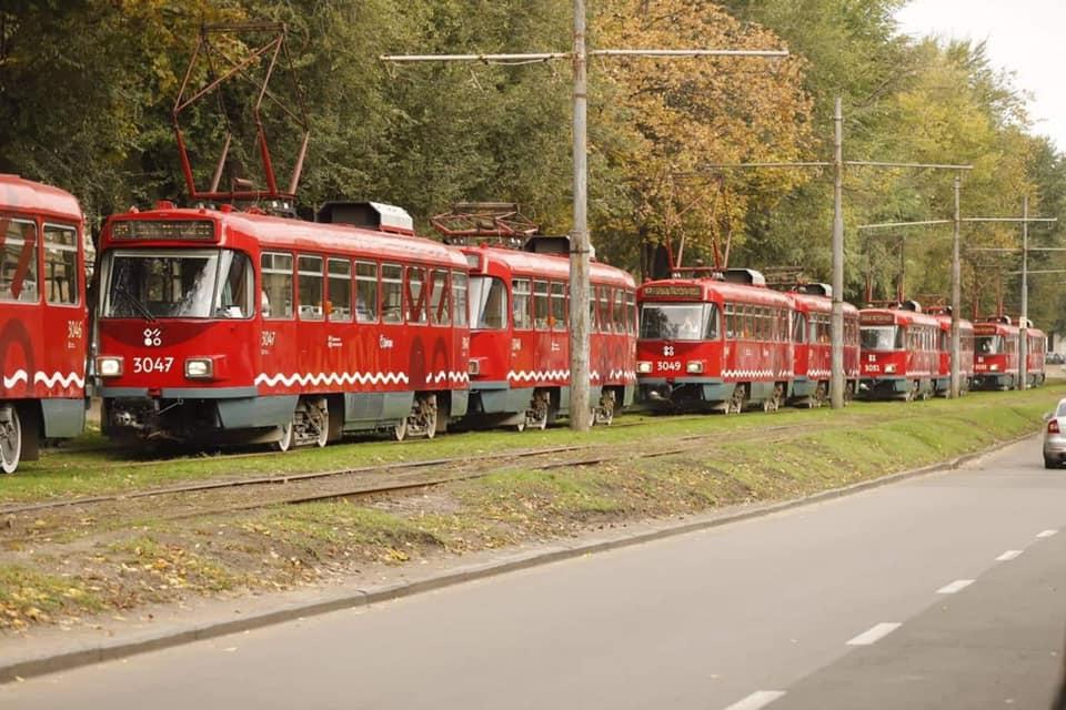 Новости Днепра про В Днепре трамваи № 12 изменят свой маршрут