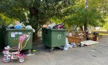 И смешно, и грустно: на Победе жильцы подкидывают свой мусор соседям, чтобы не платить за вывоз
