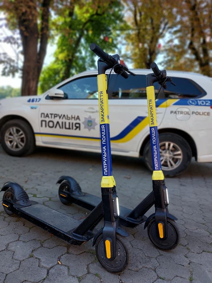Новости Днепра про В Украине полицейские будут патрулировать улицы на самокатах