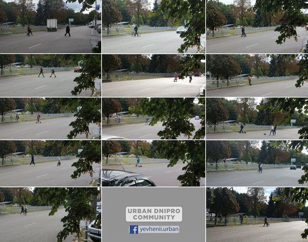 Новости Днепра про Упорство и отвага: на проспекте Поля в четвертый раз выломали забор на месте
