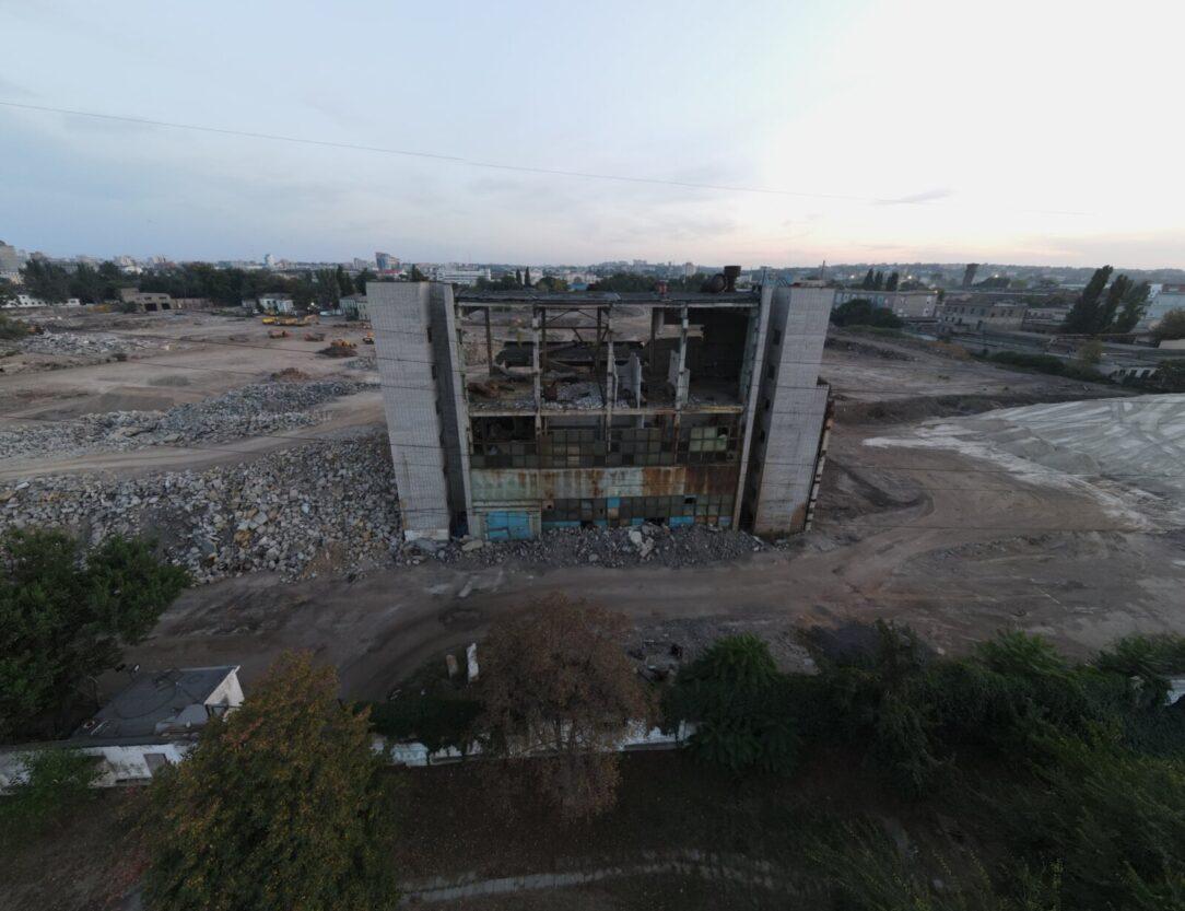 Новости Днепра про В Днепре вместо снесенного Метизного завода появится гигантский