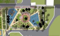 Детский городок и места для спорта: в Днепре на Янтарной реконструируют сквер