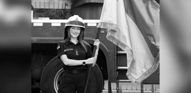 «В память о нашей Даше»: спасатели Днепра посвятили видео погибшей при взрыве коллеге