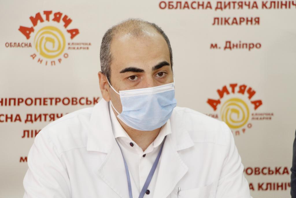 Новости Днепра про В Днепре лучшие врачи США бесплатно прооперировали 30 украинских детей с тяжелыми последствиями ожоговых травм