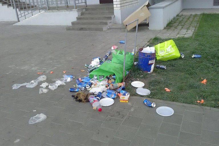 Новости Днепра про Бросил мусор мимо урны - плати: в Днепре введут штрафы