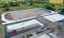Был пустырь – станет спортплощадка: в Апостолово обновляют стадион лицея №1