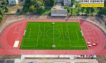 В Перещепино финиширует модернизация школьного стадиона