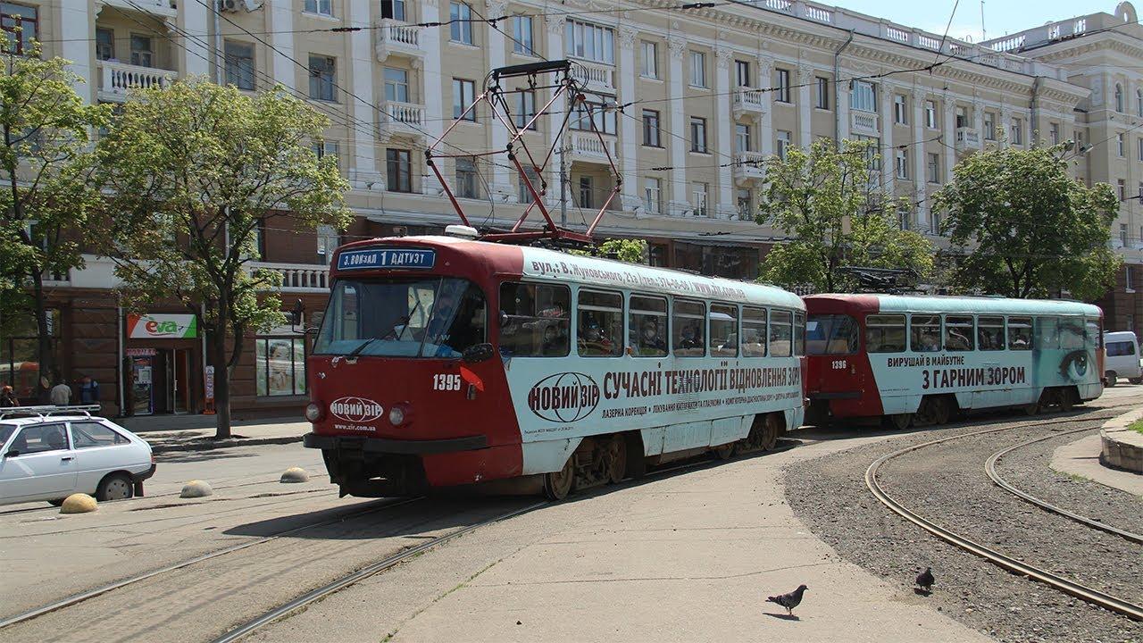 Новости Днепра про В Днепре на выходных трамваи временно изменят свой маршрут