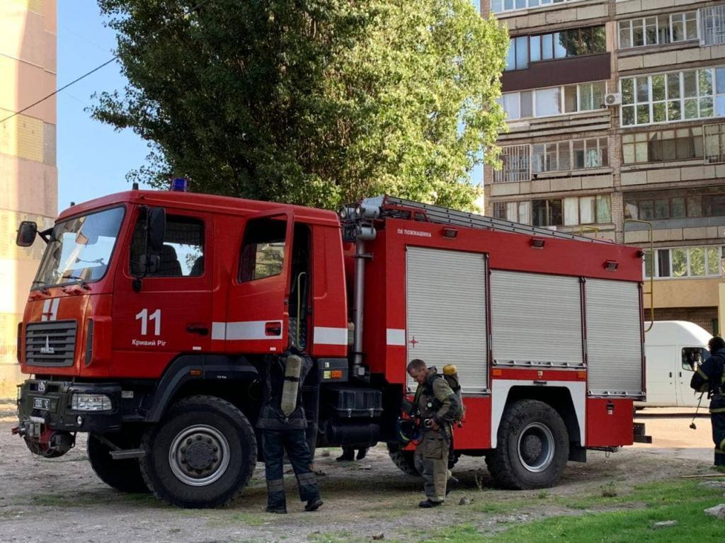 Новости Днепра про Взрыв в Кривом Роге: на балконе многоэтажки заблокированы четверо детей
