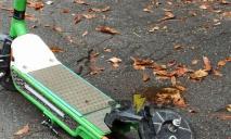 Новая жертва: в Днепре продолжается «флешмоб» «Убей самокат»