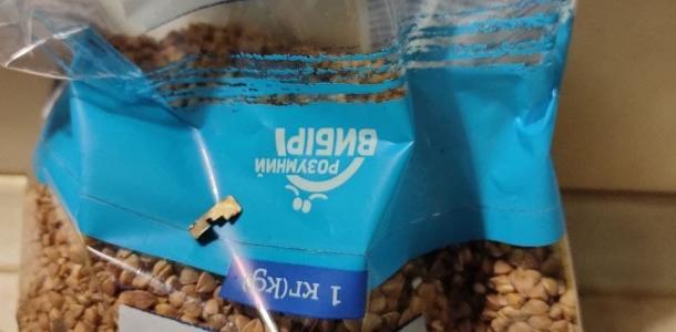 Слишком много железа: в Слобожанском в АТБ продают гречку с сюрпризом