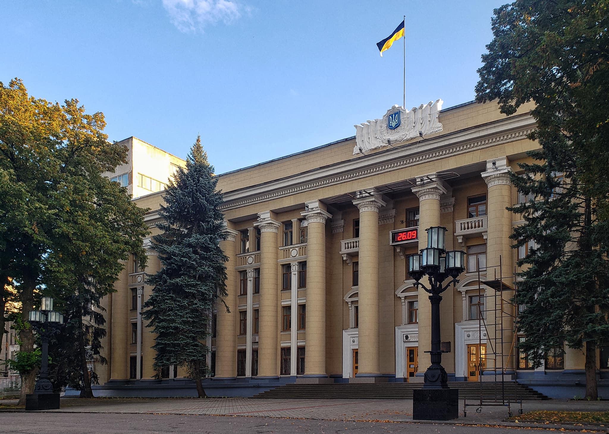 Новости Днепра про Как с открытки: в Днепре возле ЮМЗ восстановили старые фонарные столбы