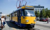 В Днепре на две недели перестанут ездить трамваи на одном из маршрутов