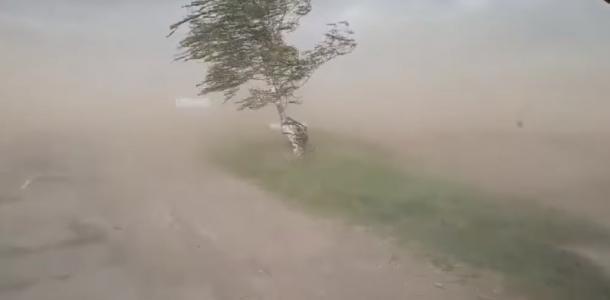 Пылевая буря: аномальное явление зафиксировали на Днепропетровщине