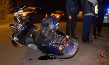 Днепровский скутерист на Моторной сбил женщину (ФОТО, ВИДЕО)