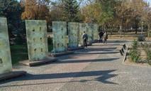 Еще даже не открыли: в Никополе нашли вандала, который разрушил мемориал воинам АТО/ООС