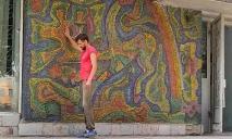 Спасли: на фасаде бывшего «Чебурашки» в Днепре обновили мозаику